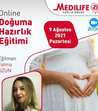 Online Doğuma Hazırlık Eğitimi